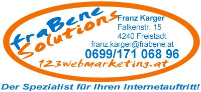 Logo von fraBene solutions e.U. - Webmaster dieser Website